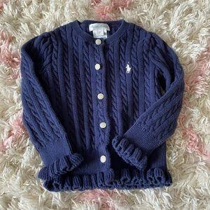 EUC Ralph Lauren 18m sweater